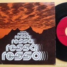 Discos de vinilo: RESSO - EP SPAIN PS - MINT * JESUS VIVE * XIAN * MUY RARO * COMO NUEVO. Lote 198489945