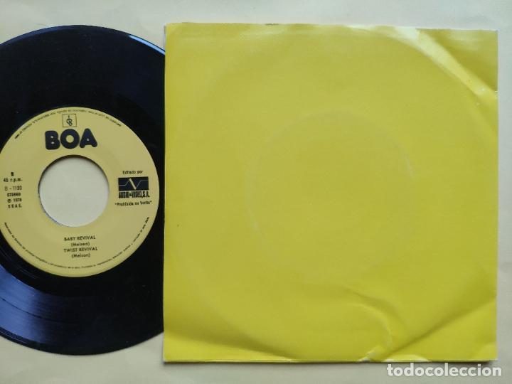 Discos de vinilo: REVIVAL MUSIC - EP Spain PS - MINT * AUDIO VIDEO LABEL * REVIVAL MUSIC * MIEDOSO / ENVIDIOSO / BABY - Foto 2 - 198490012