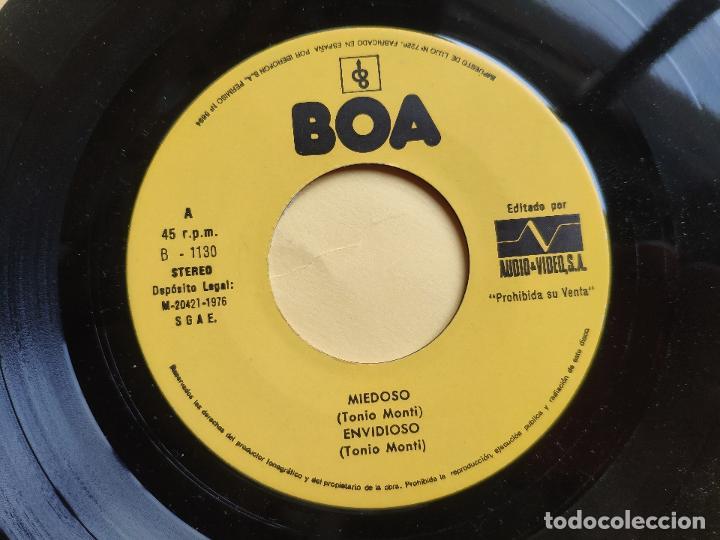 Discos de vinilo: REVIVAL MUSIC - EP Spain PS - MINT * AUDIO VIDEO LABEL * REVIVAL MUSIC * MIEDOSO / ENVIDIOSO / BABY - Foto 3 - 198490012