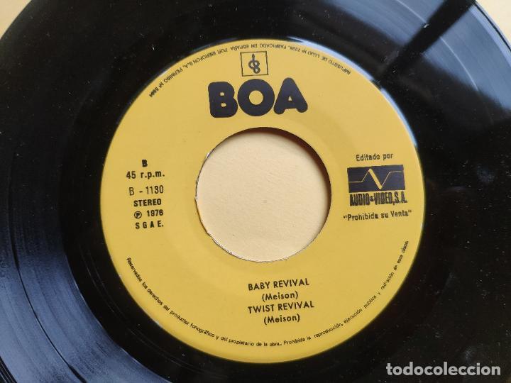 Discos de vinilo: REVIVAL MUSIC - EP Spain PS - MINT * AUDIO VIDEO LABEL * REVIVAL MUSIC * MIEDOSO / ENVIDIOSO / BABY - Foto 4 - 198490012