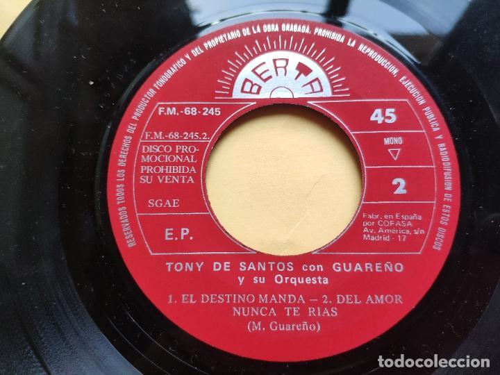 Discos de vinilo: LOS RISCOS - EP Spain PS * VG++ * PROMO * CASA DUQUE / SEGOVIA MAMBO / EL DESTINO MANDA + 1 - Foto 4 - 198490198