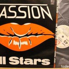 Discos de vinilo: PASSION ALL STARS / 1985 ZAFIRO PASSION / MAXI SINGLE PROMOCIONAL . Lote 198494147