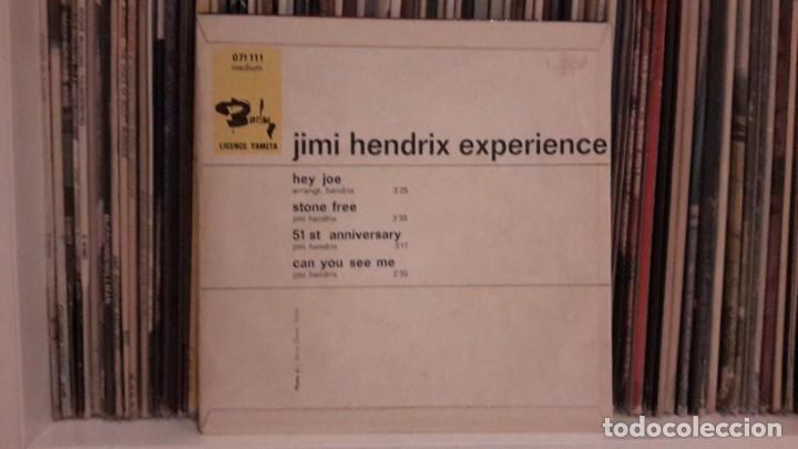 Discos de vinilo: JIMI HENDRIX EXPERIENCE - HEY JOE + 3 - Foto 2 - 198497930