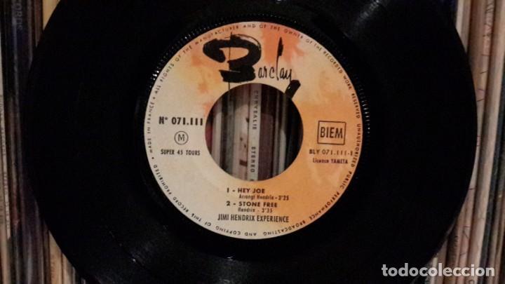 Discos de vinilo: JIMI HENDRIX EXPERIENCE - HEY JOE + 3 - Foto 3 - 198497930