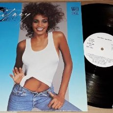 Discos de vinilo: MAXI SINGLE - WHITNEY HOUSTON - PROMO MADE IN SPAIN - I WANNA DANCE WITH SOMEBODY. Lote 198500620