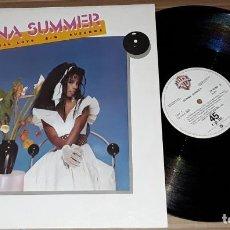 Discos de vinilo: MAXI SINGLE - DONNA SUMMER - PROMO MADE IN SPAIN - SUPERNATURAL LOVE / SUZANNA. Lote 198501325