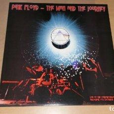 Discos de vinilo: LP PINK FLOYD THE MAN AND THE JOURNEY LIVE CONCERT AMSTERDAM 1969 RED ZEBRA VINILO ROSA. Lote 198501867