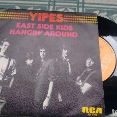 Disques de vinyle: SINGLE ( VINILO) DE YIPES AÑOS 80. Lote 198503326