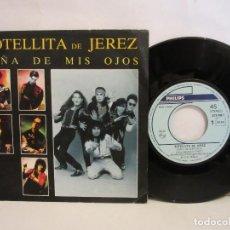 Discos de vinilo: BOTELLITA DE JEREZ - NIÑA DE MIS OJOS - SINGLE - 1989 - SPAIN - VG+/VG+. Lote 198503515