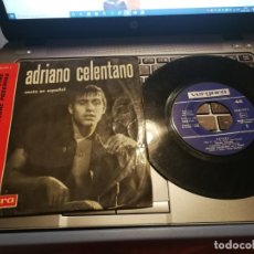 Discos de vinilo: ADRIANO CALENTANO CANTA EN ESPAÑOL REZARE, TE HAN VISTO CON OTRO HOMBRE AMAME, BESAME.. VERGARA 1963. Lote 198504330