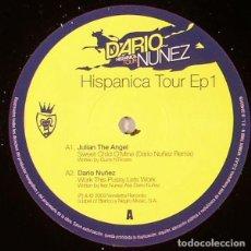Discos de vinilo: DARIO NÚÑEZ_–HISPANICA TOUR EP 1. Lote 198512840