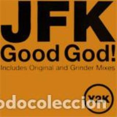 Discos de vinilo: JFK _– GOOD GOD. Lote 198512868