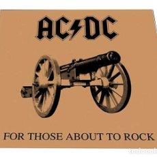 Discos de vinilo: V649 - AC/DC. FOR THOSE ABOUT TO ROCK... LP VINILO NUEVO PRECINTADO. Lote 198513893