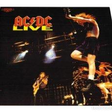 Discos de vinilo: V651 - AC/DC. LIVE. DOBLE LP VINILO NUEV PRECINTADO. Lote 198515605