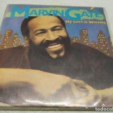Discos de vinilo: MARVIN GAYE – MY LOVE IS WAITING--EDICION PROMO 1982. Lote 198516986
