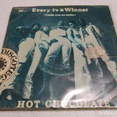 Discos de vinilo: HOT CHOCOLATE – EVERY 1'S A WINNER = CADA UNO ES UN ÉXITO--EDICION ESPAÑOLA 1979. Lote 198519333