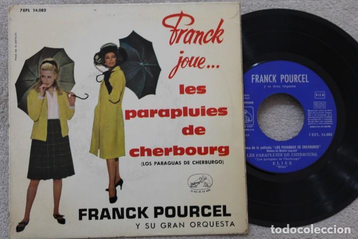 FRANCK POURCEL Y SU GRAN ORQUESTA LES PARAPLUIS DE CGERBOURG EP VINYL MADE IN SPAIN 1964 (Música - Discos de Vinilo - EPs - Orquestas)