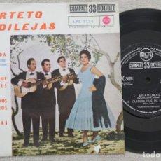 Discos de vinilo: CUARTETO CANDILEJAS ENAMORADA EP VINYL MADE IN SPAIN 1961. Lote 198521898