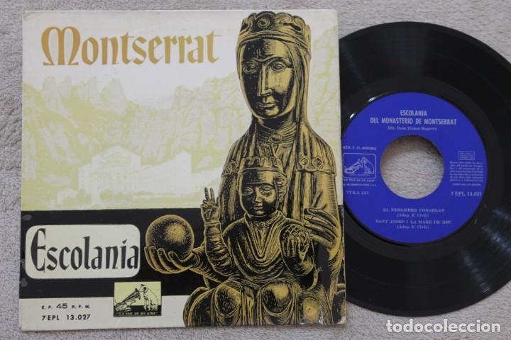 ESCOLANIA DEL MONASTERIO DE MONTSERRAT IRENEO SEGARRA EP VINYL MADE IN SPAIN (Música - Discos de Vinilo - EPs - Otros estilos)