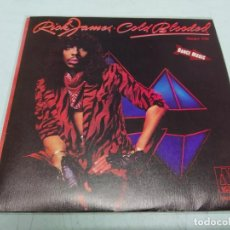 Discos de vinilo: RICK JAMES – COLD BLOODED--EDICION PROMO 1983. Lote 198523330