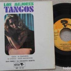 Discos de vinilo: JEAN FREBER LOS MEJORES TANGOS EP VINYL MADE IN SPAIN 1968. Lote 198524337