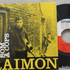 Discos de vinilo: RAIMON AL VENT EP VINYL MADE IN SPAIN 1963 . Lote 198524486