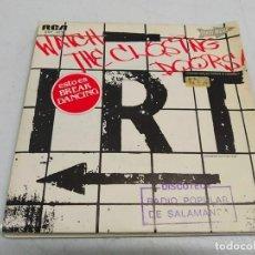 Discos de vinilo: I.R.T. (INTERBORO RHYTHM TEAM)- WATCH THE CLOSING DOORS = ¡CUIDADO CON LAS PUERTAS AL CERRARSE!. Lote 198525547