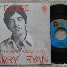 Discos de vinilo: BARRY RYAN ELOISE SINGLE VINYL MADE IN SPAIN 1968. Lote 198526966
