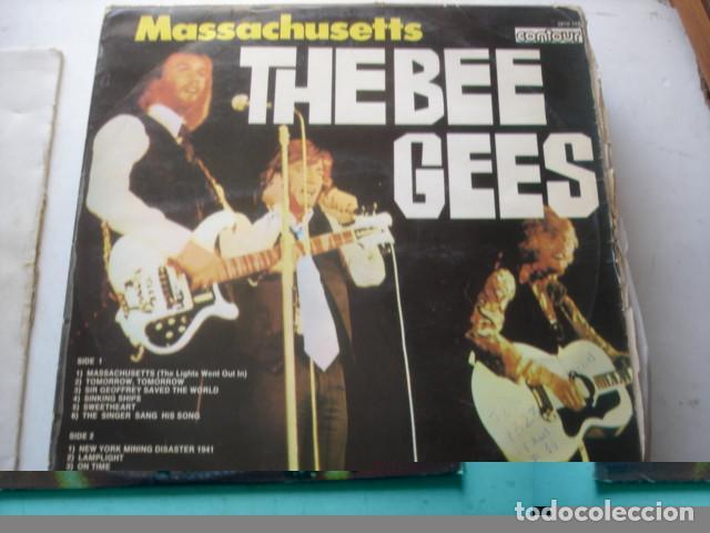THE BEE GEES MASSACHUSETTS (Música - Discos - LP Vinilo - Pop - Rock - Extranjero de los 70)