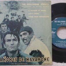 Discos de vinilo: LOS CAÑONES DE NAVARONE BSO EP VINYL MADE IN SPAIN 1961. Lote 198528141
