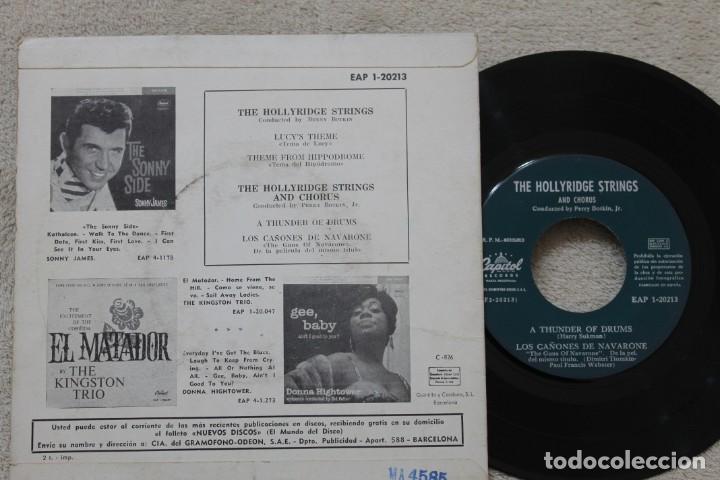 Discos de vinilo: LOS CAÑONES DE NAVARONE BSO EP VINYL MADE IN SPAIN 1961 - Foto 2 - 198528141