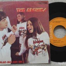 Discos de vinilo: THE ARCHIES SUGAR, SUGAR SINGLE VINYL MADE IN SPAIN 1969. Lote 198528588