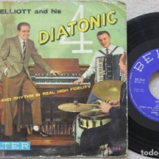 Discos de vinilo: JOHN ELLIOT AND HIS 4 DIATONIC HOMENAJE A PAUL WHITEMAN EP VINYL MADE IN SPAIN 1959. Lote 198529266