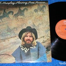 Discos de vinilo: MICHAEL MURPHEY SPAIN LP 1977 FLOWING FREE FOREVER FOLK ROCK WORLD COUNTRY EPIC RECORDS. Lote 198529607