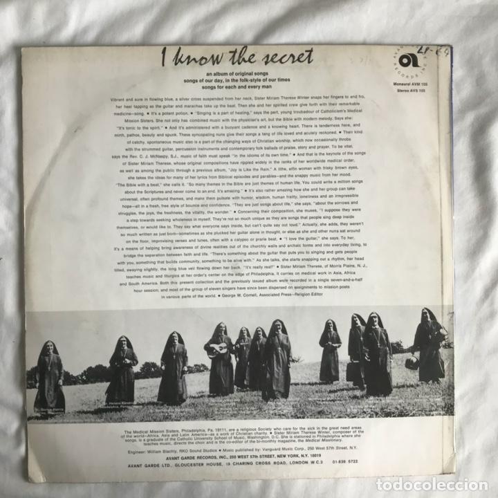 Discos de vinilo: The Medical Mission Sisters – I Know The Secret UK - Foto 2 - 195369102