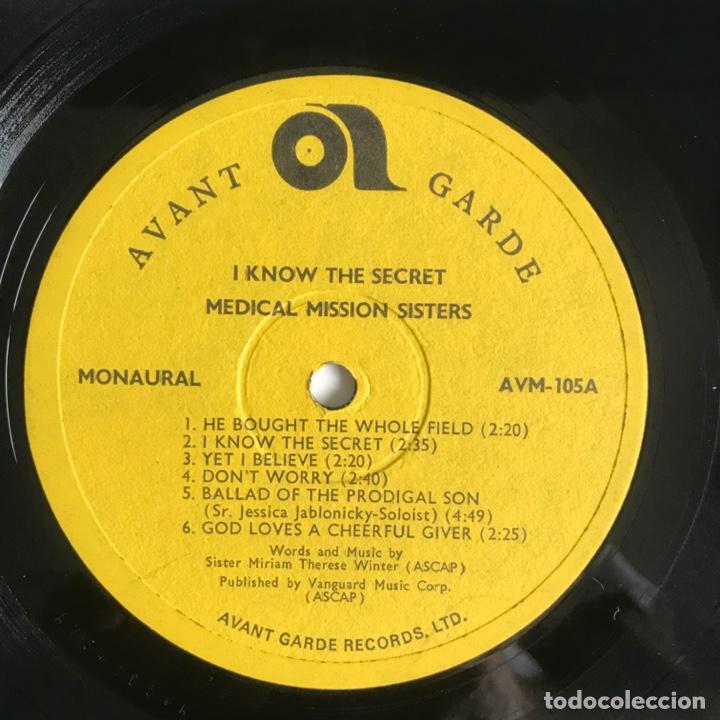 Discos de vinilo: The Medical Mission Sisters – I Know The Secret UK - Foto 3 - 195369102
