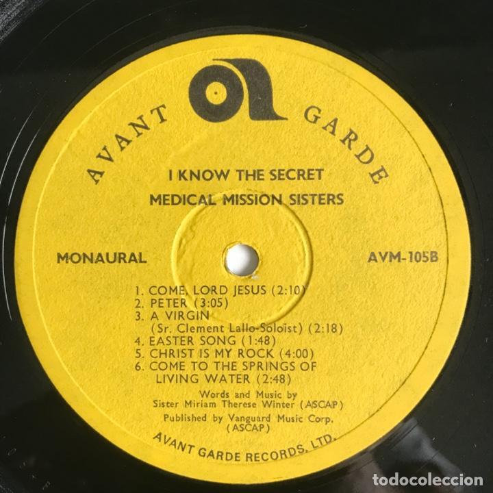 Discos de vinilo: The Medical Mission Sisters – I Know The Secret UK - Foto 4 - 195369102