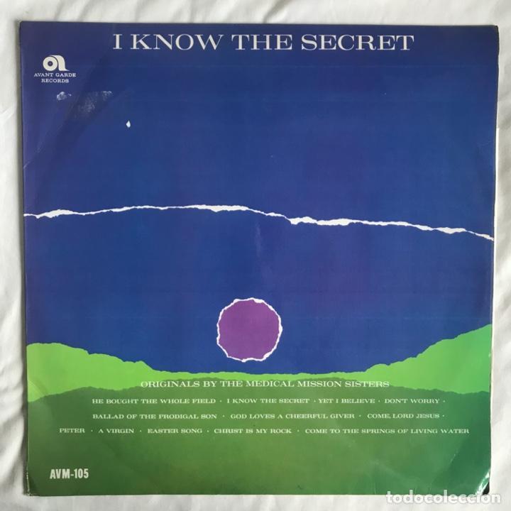 THE MEDICAL MISSION SISTERS – I KNOW THE SECRET UK (Música - Discos - LP Vinilo - Étnicas y Músicas del Mundo)