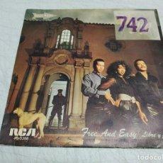 Discos de vinilo: PLUSH – FREE AND EASY. Lote 198530101