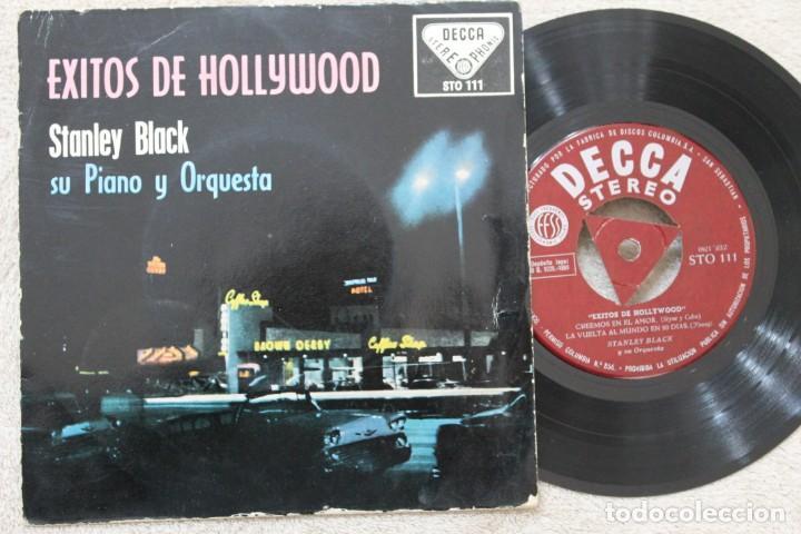 STANLEY BLACK EXITOS DE HOLLYWOOD EP VINYL MADE IN SPAIN 1959 (Música - Discos de Vinilo - EPs - Orquestas)