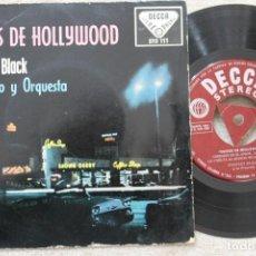 Discos de vinilo: STANLEY BLACK EXITOS DE HOLLYWOOD EP VINYL MADE IN SPAIN 1959. Lote 198530178