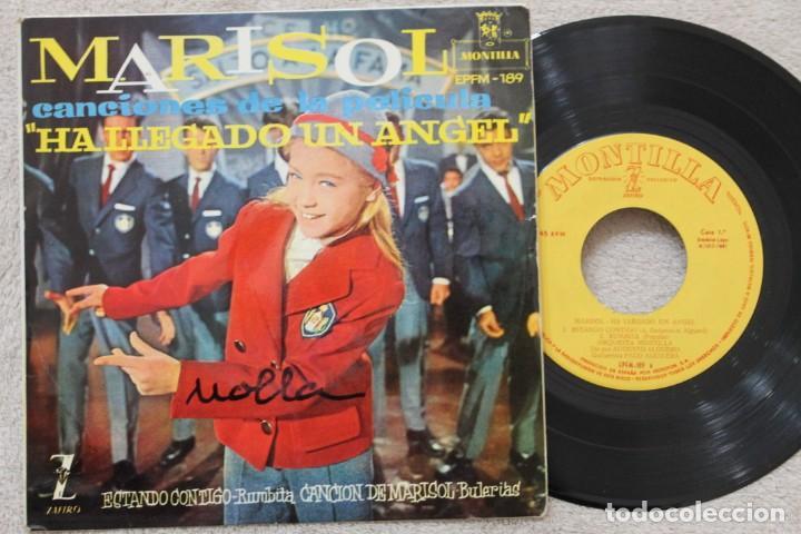 MARISOL BSO HA LLEGADO UN ANGEL EP VINYL MADE IN SPAIN 1961 (Música - Discos - Singles Vinilo - Solistas Españoles de los 50 y 60)