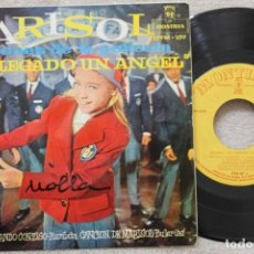 Discos de vinilo: MARISOL BSO HA LLEGADO UN ANGEL EP VINYL MADE IN SPAIN 1961. Lote 198531005