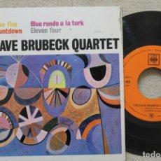 Discos de vinilo: THE DAVE BRUBECK QUARTET TAKE FIVE EP VINYL MADE IN SPAIN 1963. Lote 198531266