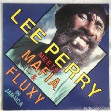Discos de vinilo: LEE PERRY & THE UPSETTERS / MAFIA & FLUXY – LEE PERRY MEETS MAFIA & FLUXY IN JAMAICA. Lote 198538850