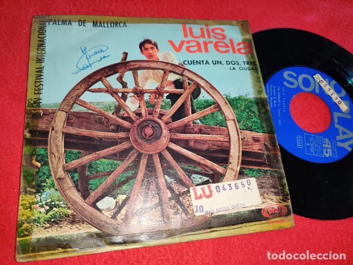 LUIS VARELA CUENTA UN DOS TRES/LA CIUDAD 7'' SINGLE 1967 SONOPLAY VINILO EN EXCELENTE ESTADO (Música - Discos - Singles Vinilo - Solistas Españoles de los 50 y 60)