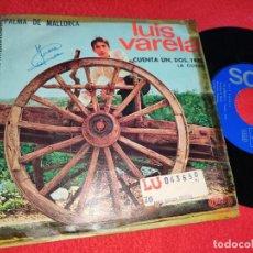 Discos de vinilo: LUIS VARELA CUENTA UN DOS TRES/LA CIUDAD 7'' SINGLE 1967 SONOPLAY VINILO EN EXCELENTE ESTADO. Lote 198547198