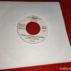 Discos de vinilo: CLAUDYA & RAMON Y SUS SHOWMEN TU Y YO/EL CAMINO 7'' SINGLE 1970 MARFER EXCELENTE PROMO. Lote 198552492