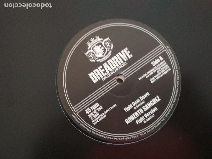 ROBERTO SANCHEZ FIGHT DEM DOWN VINILO DIEZ PULGADAS (Música - Discos de Vinilo - Maxi Singles - Reggae - Ska)
