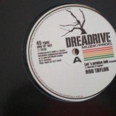 Discos de vinilo: ROD TAYLOR / RAS TELFORD LET'S PRAISE JAH / PRIO PEAK VINILO DIEZ PULGADAS. Lote 198553852